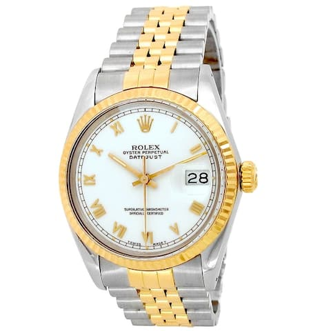 Pre-owned 36mm Rolex Two-Tone Datejust Watch