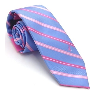 Susan G. Komen NEW Blue Pink Men's Slim Striped Breast Cancer Neck Tie|https://ak1.ostkcdn.com/images/products/is/images/direct/62bef5e053540956d5b76e8a4669eb95c68bf6c4/Susan-G.-Komen-NEW-Blue-Pink-Men%27s-Slim-Striped-Breast-Cancer-Neck-Tie.jpg?impolicy=medium