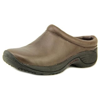 Merrell Encore Nova Women Round Toe Leather Mules