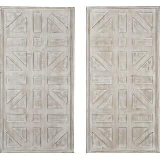 Ashley Furniture Dubem Geometric Design Wall Decor Set A8010048
