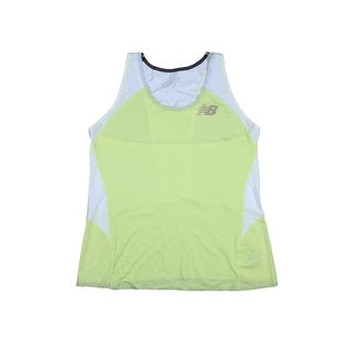 New Balance Womens Boylston Singlet Racerback Perforated Tank Top