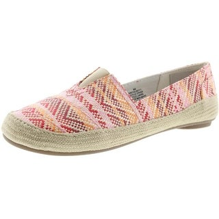 Nine West Womens Gilboy Woven Pattern Loafers