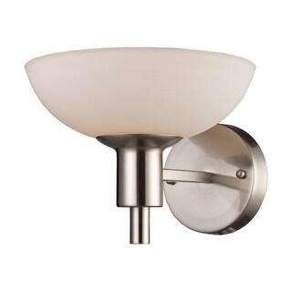 Landmark Lighting 61035 Vernon 1 Light Sconce In Satin Nickel From The Vernon Collection|https://ak1.ostkcdn.com/images/products/is/images/direct/62c22cd4d3b3dba116e58d8057bf4d535a32d573/Landmark-Lighting-61035-Vernon-1-Light-Sconce-In-Satin-Nickel-From-The-Vernon-Collection.jpg?_ostk_perf_=percv&impolicy=medium