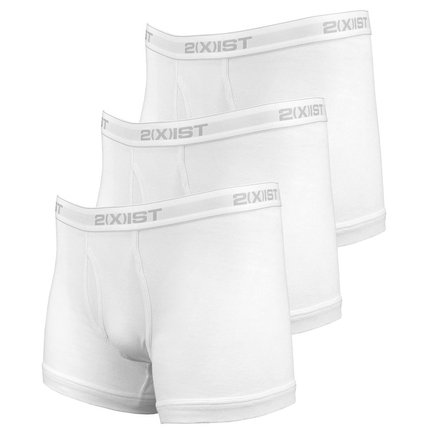 96578c7c35b Shop 2(X)Ist Mens Essential Boxer Brief 3 Pack Underwear - Free Shipping On  Orders Over $45 - Overstock - 23576404