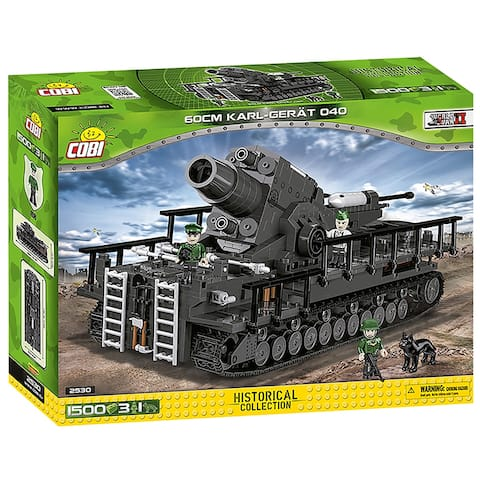 COBI Small Army 60 cm Karl Great 040 1500 Piece Construction Blocks Building Kit