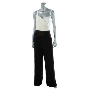 Guess Womens Smocked Strapless Jumpsuit - 8
