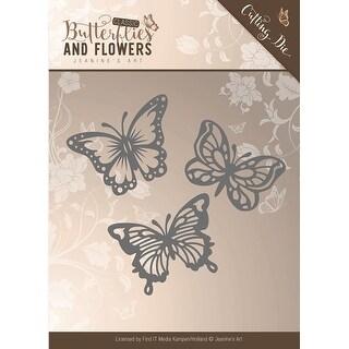 Butterflies - Find It Jeanine's Art Classic Butterflies & Flowers Die