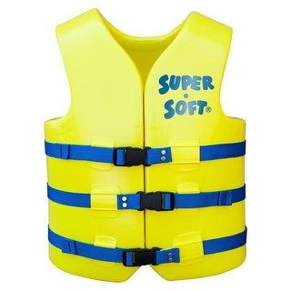 TRC Recreation Super-Soft USCG Adult Vest XXLarge - Yellow 1024512