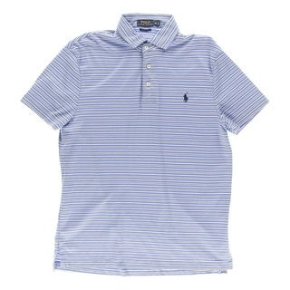 Polo Ralph Lauren Mens Polo Shirt Striped Short Sleeves - M