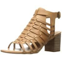 Very Volatile Women's Vertical Huarache Sandal, Natural, Size 7.0 - 7