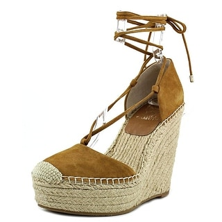 Vince Camuto Airlia Women Open Toe Suede Wedge Heel