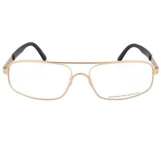 Porsche Design P8225 C Rectangular Gold Eyeglass Frames