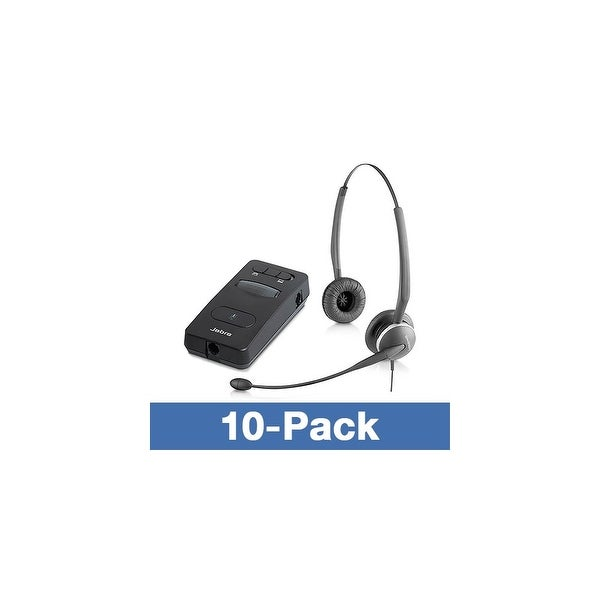 Jabra GN 2125 Duo with LINK 860-10 Duo Noise Canceling Headset
