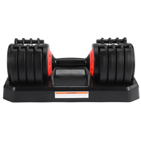TiramisuBest Adjustable Dumbbell for Workout Training - N/A
