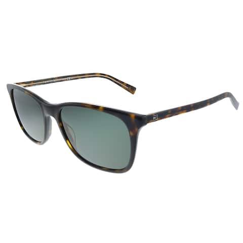 Tommy Hilfiger TH 1449/S A84 Unisex Yellow Havana Frame Green Lens Sunglasses