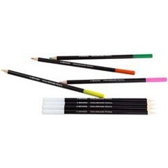 Assorted Colors; 6/Pkg - Chalkboard Colored Pencil