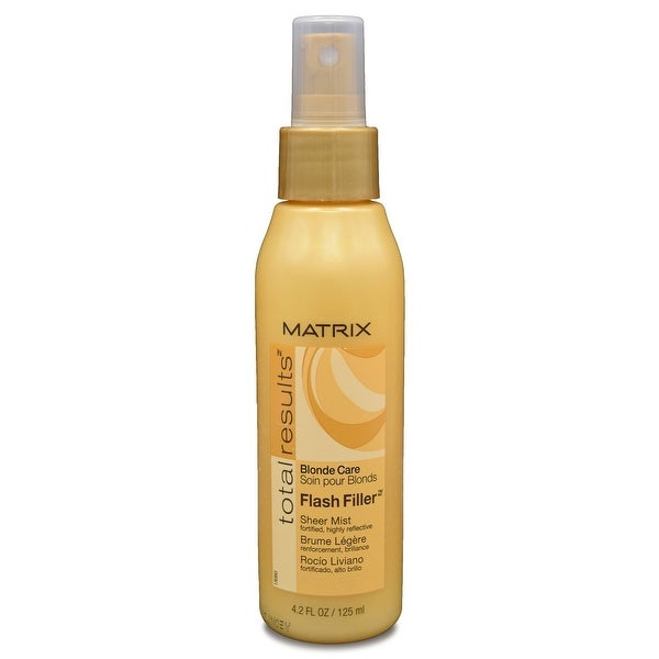 Matrix Total Results Blonde Care Flash Filler Sheer Mist 4.2 Oz