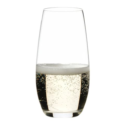 Riedel 'O' Champagne Stemless Glass -Set of 4