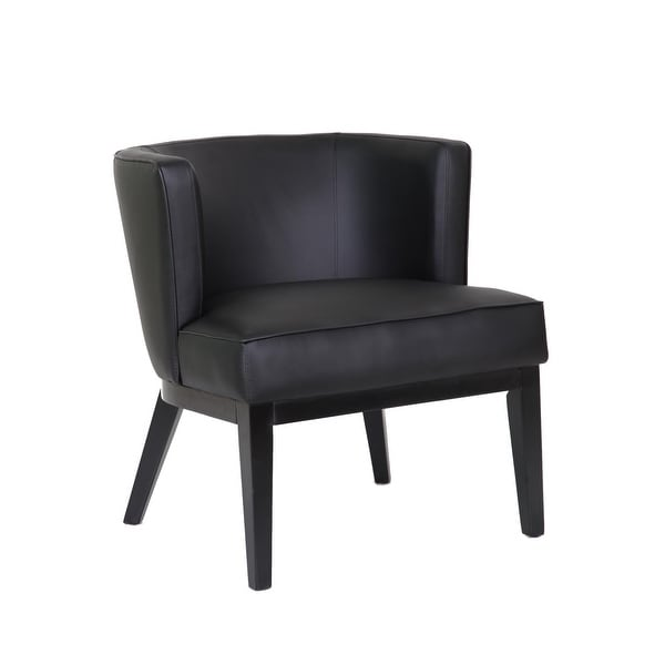 Boss Office Products Ava Black Accent Chair. Opens flyout.