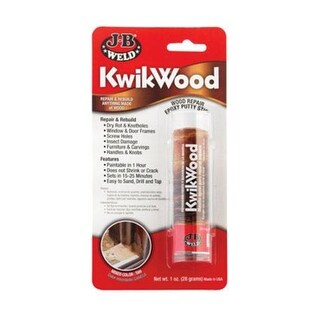 Jb Weld 8257 Kwikwood Epoxy Stick 1 Oz