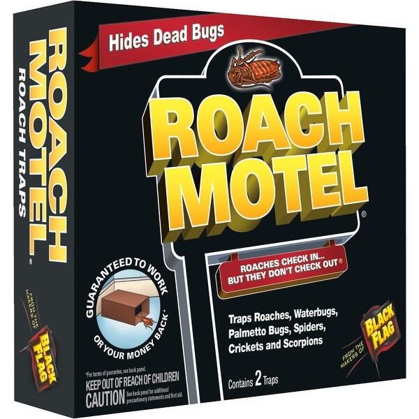 Black Flag 2Pk Roach Motel Trap