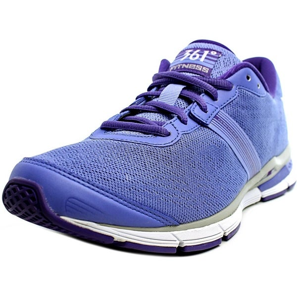 361 Chromoso Women Violet/Silver/White Running Shoes