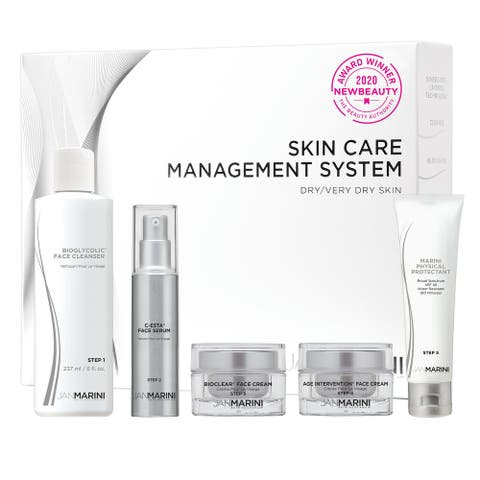 Skin Care Management System Dry/Very Dry with Marini Physical Protectant SPF 45