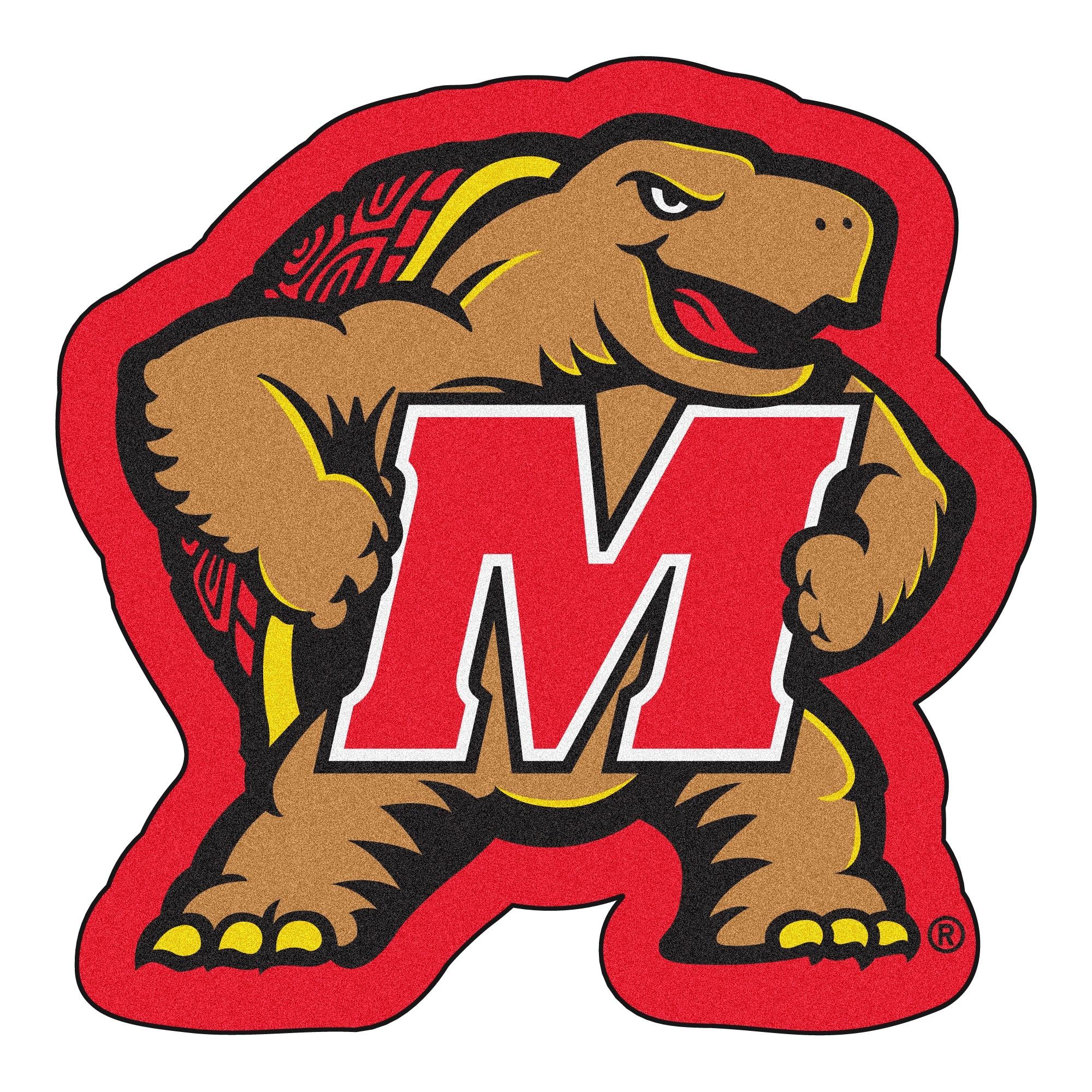 Maryland Terps Mascot Novelty Logo