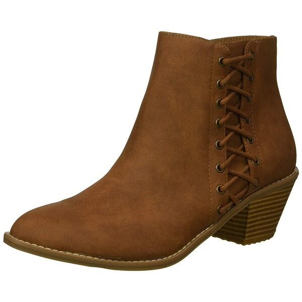 Rocket Dog Women/'s Marila Francois PU//Wilderness Fabric Ankle Boot
