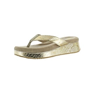 Volatile Womens Daniella Thong Sandals Open Toe Padded Footbed