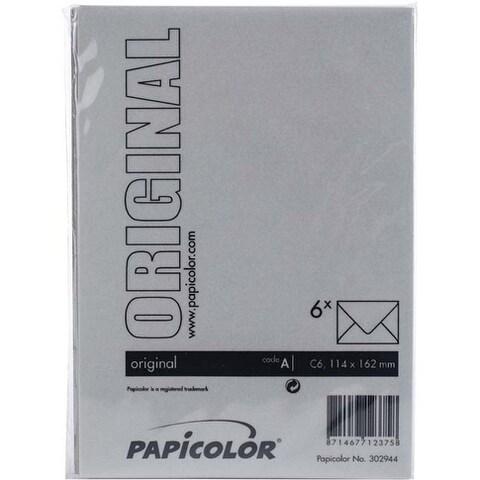 Mouse Grey - Papicolor A6 Envelopes 6/Pkg