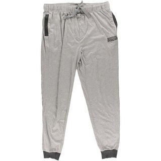 Kenneth Cole Reaction Mens Jogger Pants Contrast Trim Heathered