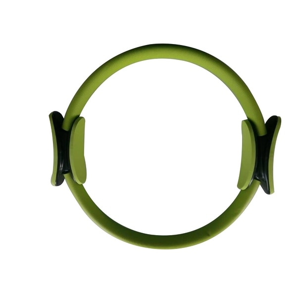 """14"""" Black Magic Pilate Ring Circle Magic Exercise Fitness Workout Sport Weight Loss Green"""