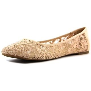 Lucky Brand Eartha Round Toe Canvas Flats