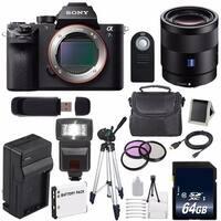 Sony Alpha a7S II a7S Mark II a7SII ILCE7SM2/B Mirrorless Digital Camera (International Model no Warranty) 6AVE Bundle 103