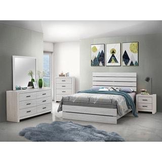 Link to Marion Coastal White Panel Bedroom Set Similar Items in Bedroom Furniture