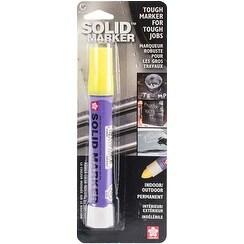 Fluorescent Lemon - Solid(Tm) Marker Indoor/Outdoor Permanent Marker