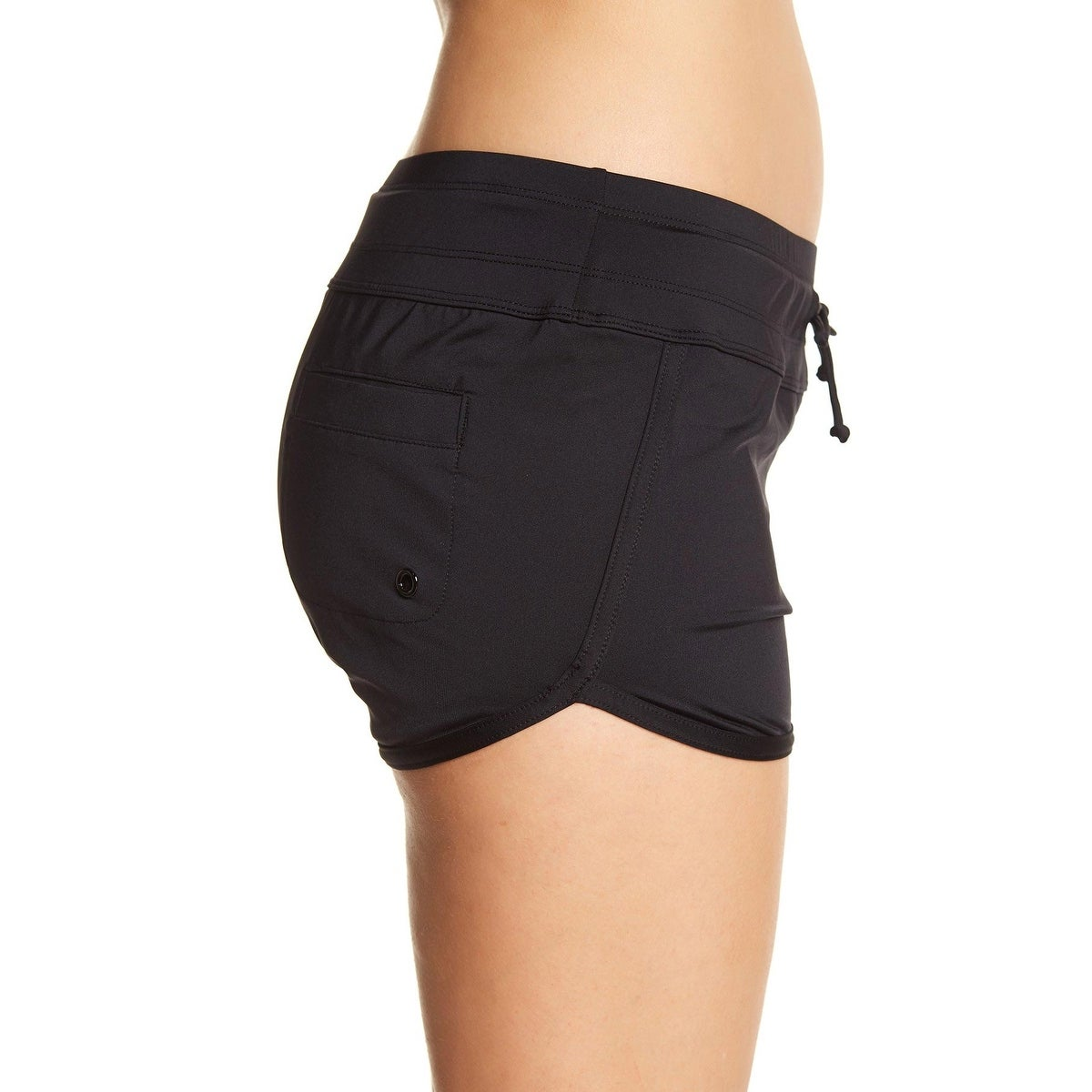 9e3b4b880082 Shop Jag Womens Dolphin Swim Boyshorts, Black, Large - Free Shipping On  Orders Over $45 - Overstock - 28293042