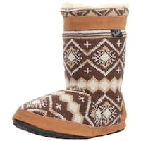 Woolrich Womens WhiteCap Closed Toe Pull On Slippers