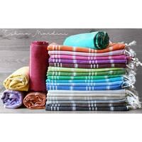 "Swan Comfort Cotton Swimsuit Cover Up  & Bath Beach Travel Towel - 39"" x 70"""