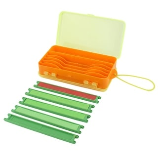 Plastic Rectangle Shaped Storage Fishing Tool Holder Container Box for Fisherman