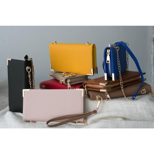 f33e578defe4 Shop MKF Collection by Mia K Farrow Lauren Wallet wristlet Shoulder ...