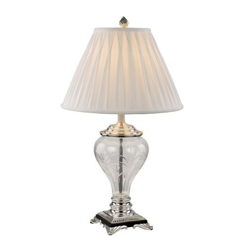 Trans Globe Lighting RTL-8814 Bud One Light Table Lamp with White Shade