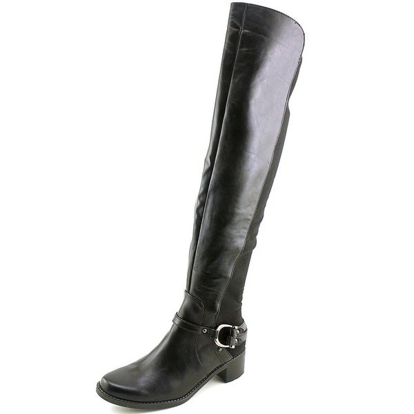 Marc Fisher Kemos 2 Women  Round Toe Synthetic Black Over the Knee Boot