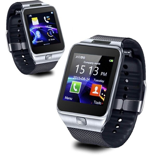 Indigi® SWAP2 (Smart Watch And Phone) w/ Camera  + SMS Notify  + Universal Compatibility (iOS & Android)