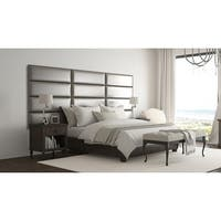 Vant Upholstered Wall Panels (Headboards) Set of 4 -Metallic Neutral - 39 Inch - Twin-King.