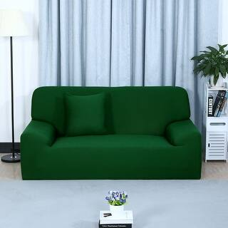 Green Sofa Amp Couch Slipcovers For Less Overstock Com