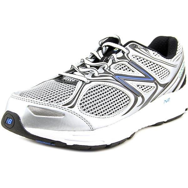 f1b77da9555c Shop New Balance M840 Men 2E Round Toe Canvas Silver Walking Shoe ...