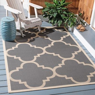 SAFAVIEH Courtyard Maryanne Indoor/ Outdoor Patio Backyard Rug