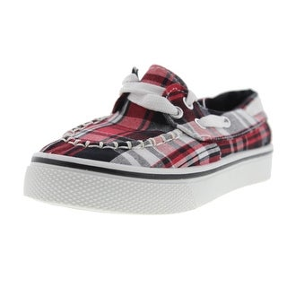 Dawgs Boys Caymans Plaid Boat Shoes - 2